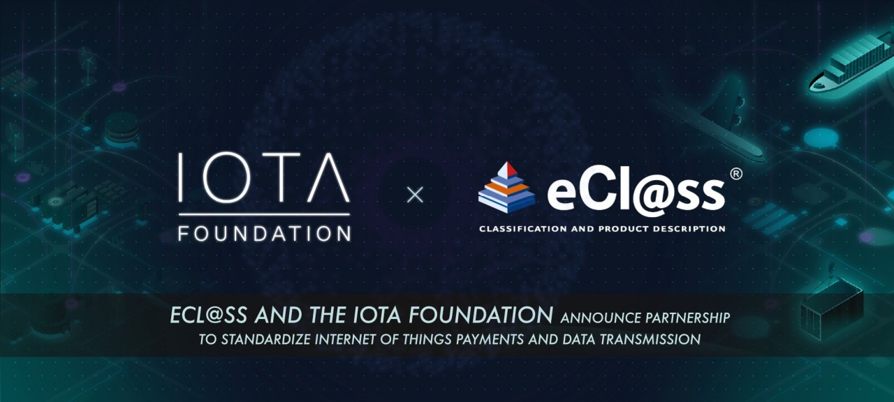 eCl@ss and the IOTA Foundation Announce Partnership to Standardize Internet of Things Payments and Data Transmission