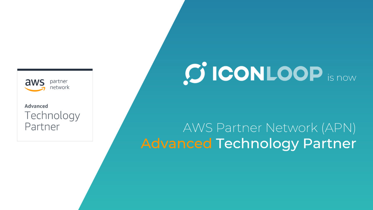 ICONLOOP Achieves Advanced Technology Partner Status in Amazon Web Services Partner Network