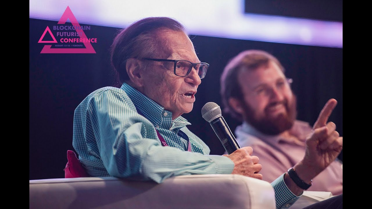 Larry King Panel: Blockchain Futurist Conference